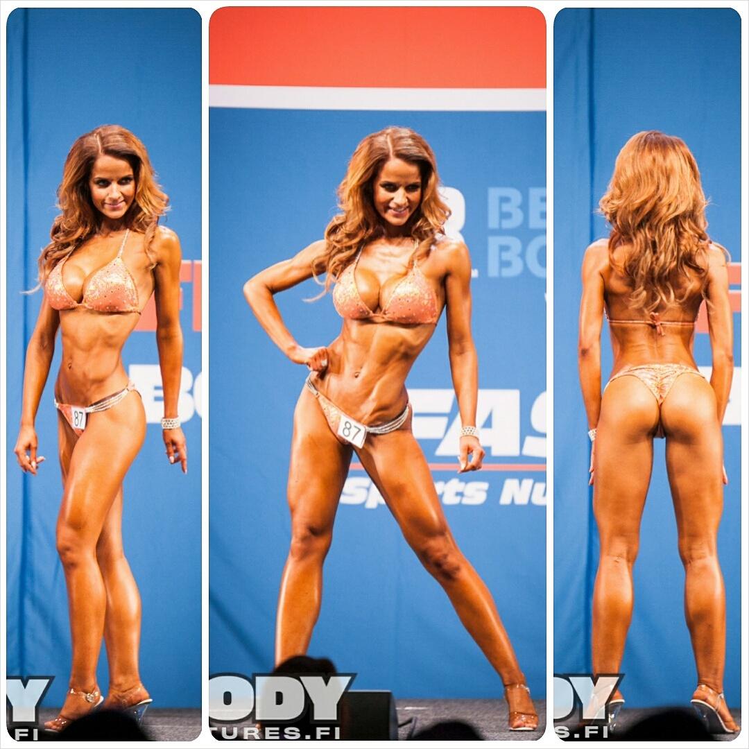 SM-kilpailu Fitness Expossa lokakuussa, SM-pronssi.