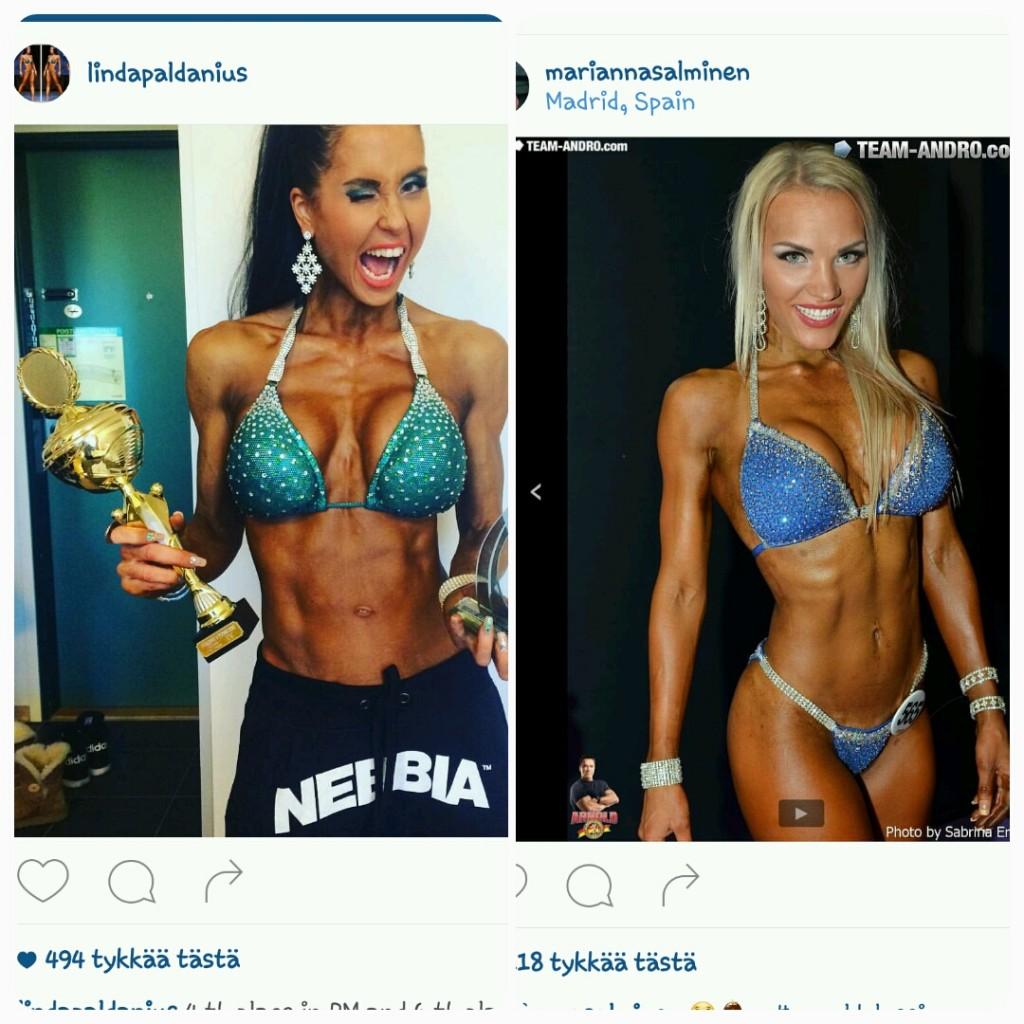 Linda Paldanius Ja Marianna Salminen