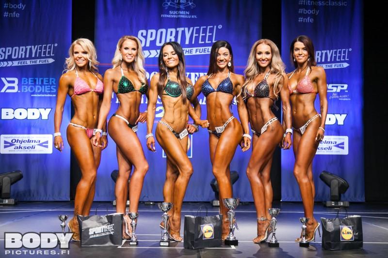 Fitness Classic - Bikini fitness tulokset ja oma arvioni