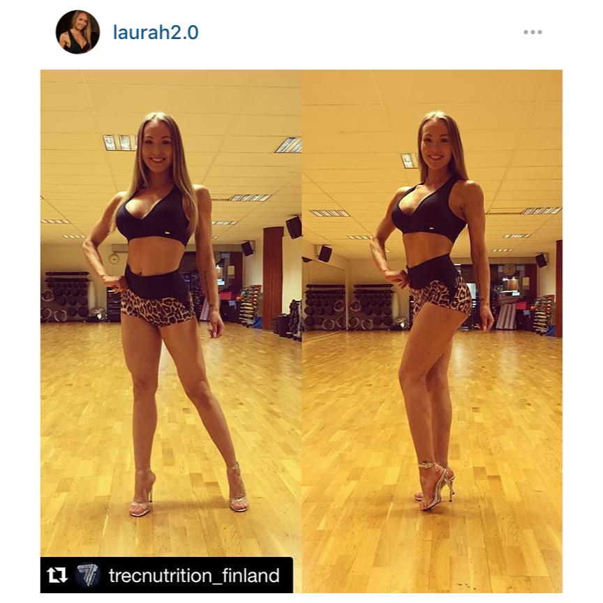 Laura on kehittynyt valtavasti ja kun iloinen olemus saadaan lavalle, niin ei ole epäilystä finaalipaikasta