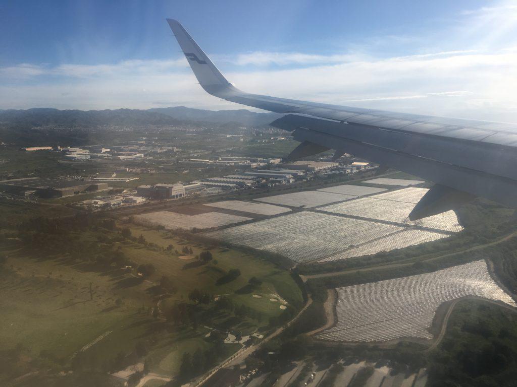 Ensimmäinen päiväni Fuengirolassa