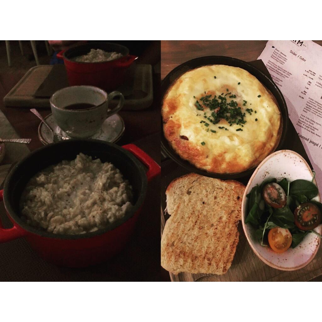 kohvik rusik breakfast
