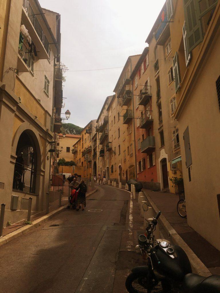 nizza vanha kaupunki