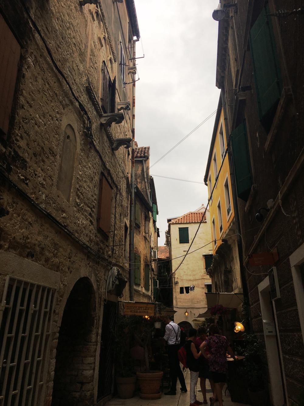 split vanha kaupunki