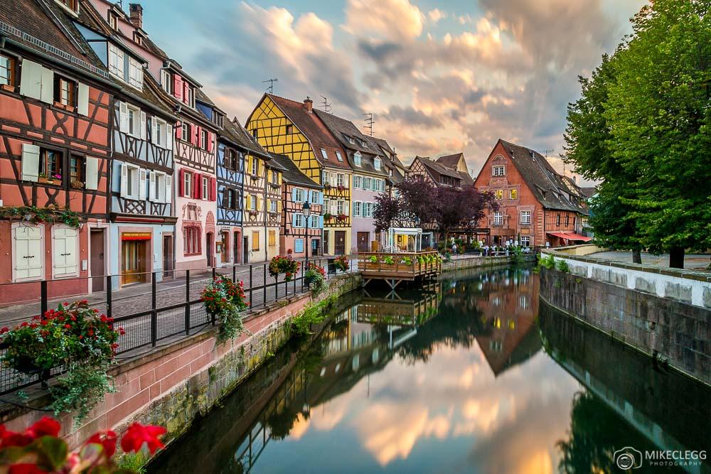 Colmar-France-at-sunset