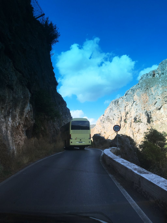 Elafonissi-Bussi-vuoristotie