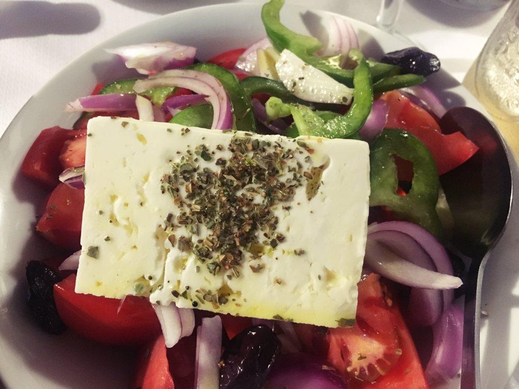 Kreikkalainen-Salaatti-kreeta-hania