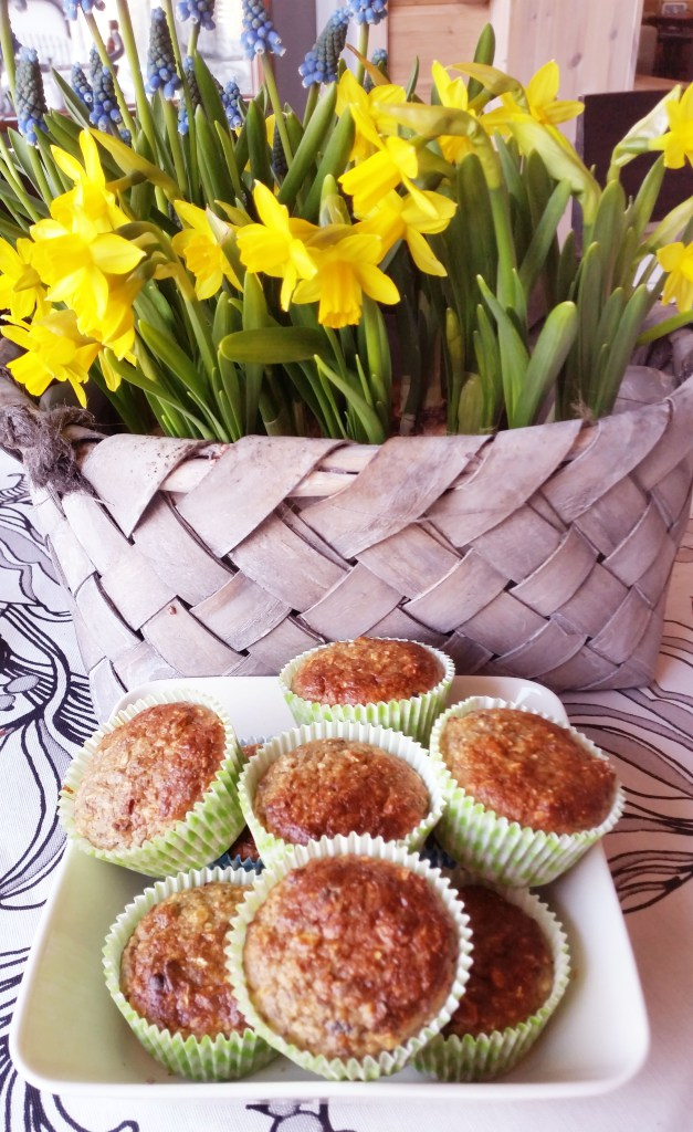 Suklaahippu muffins (sokeriton, gluteeniton)