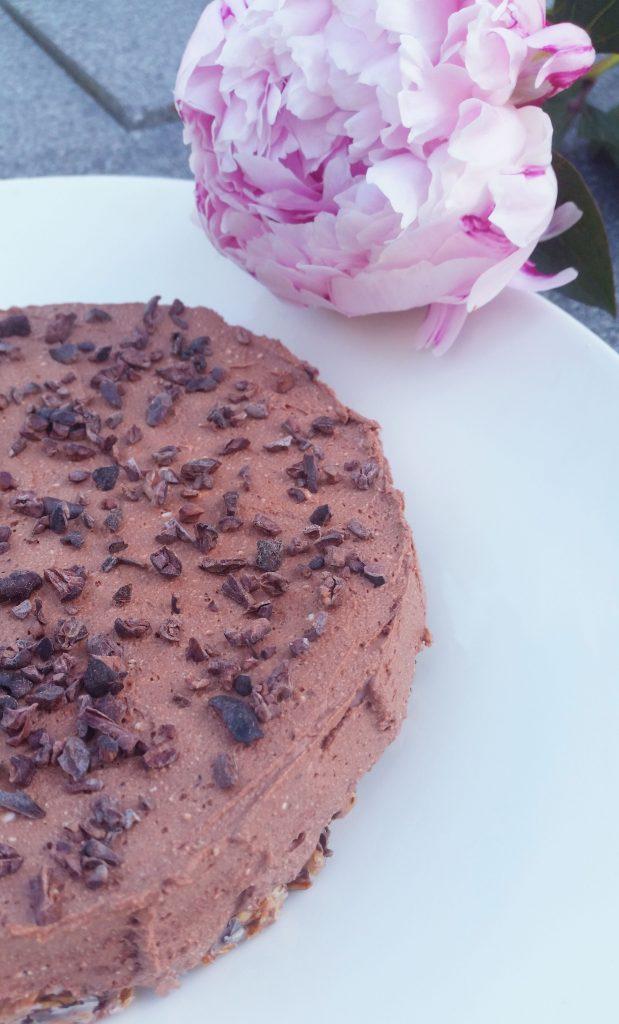 Suklainen kahvikakku (gluteeniton, sokeriton)