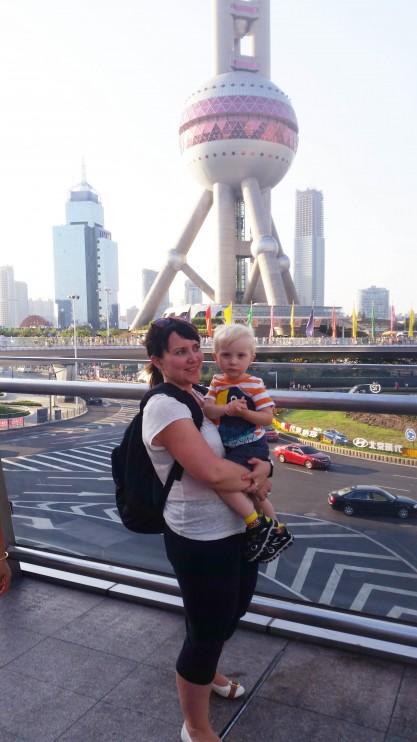 Shanghai - lapsen kanssa part 1.