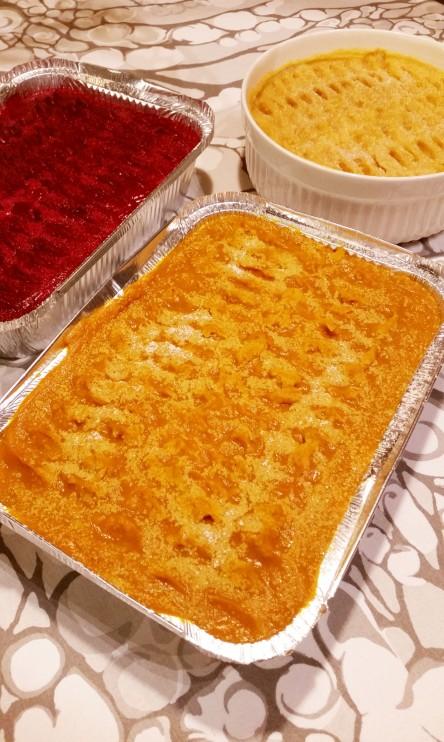 Punajuuribataatti-, lanttu- ja porkkanalaatikko (gl, vegaani)