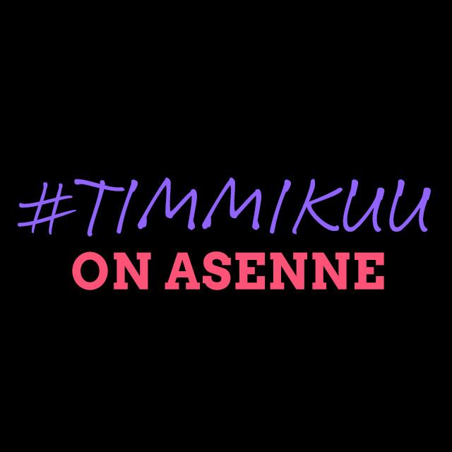 Timmikuu_on_asenne