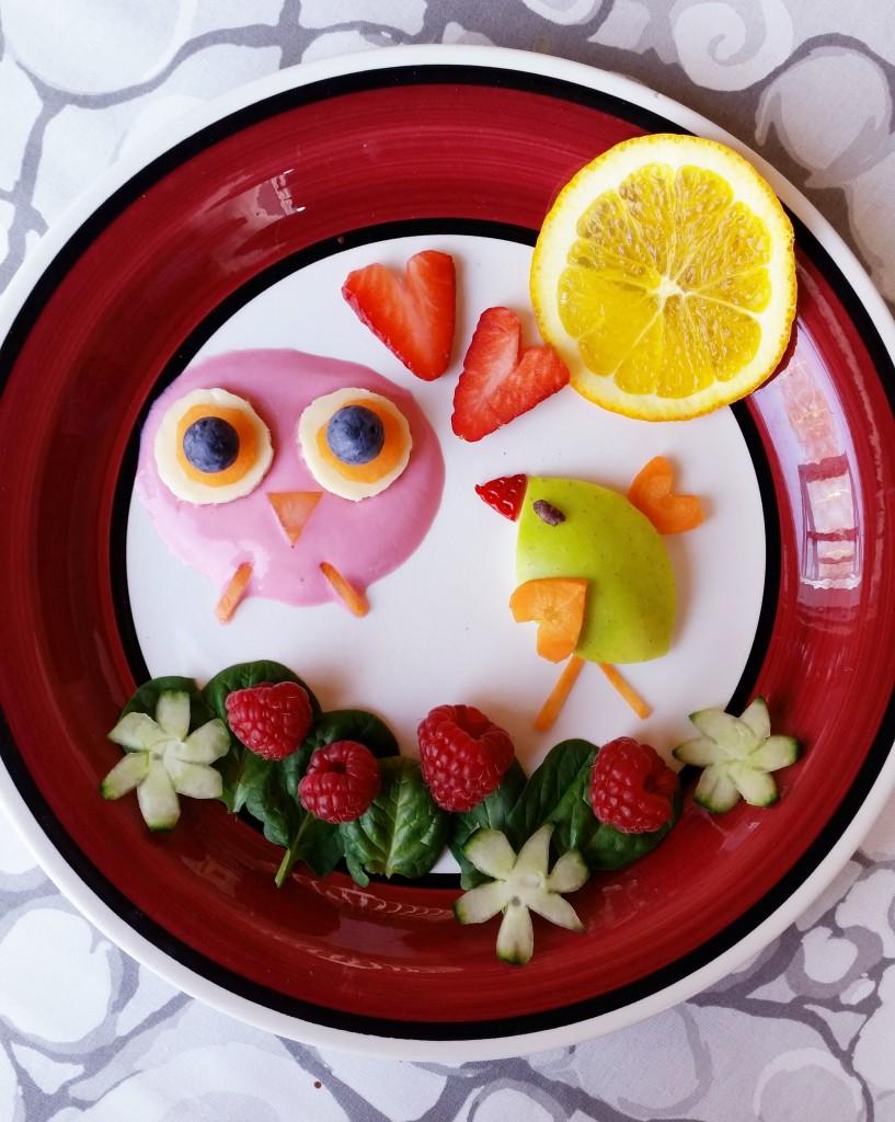 Ruokataidetta - välipalaa lapsille ja lapsenmielisille