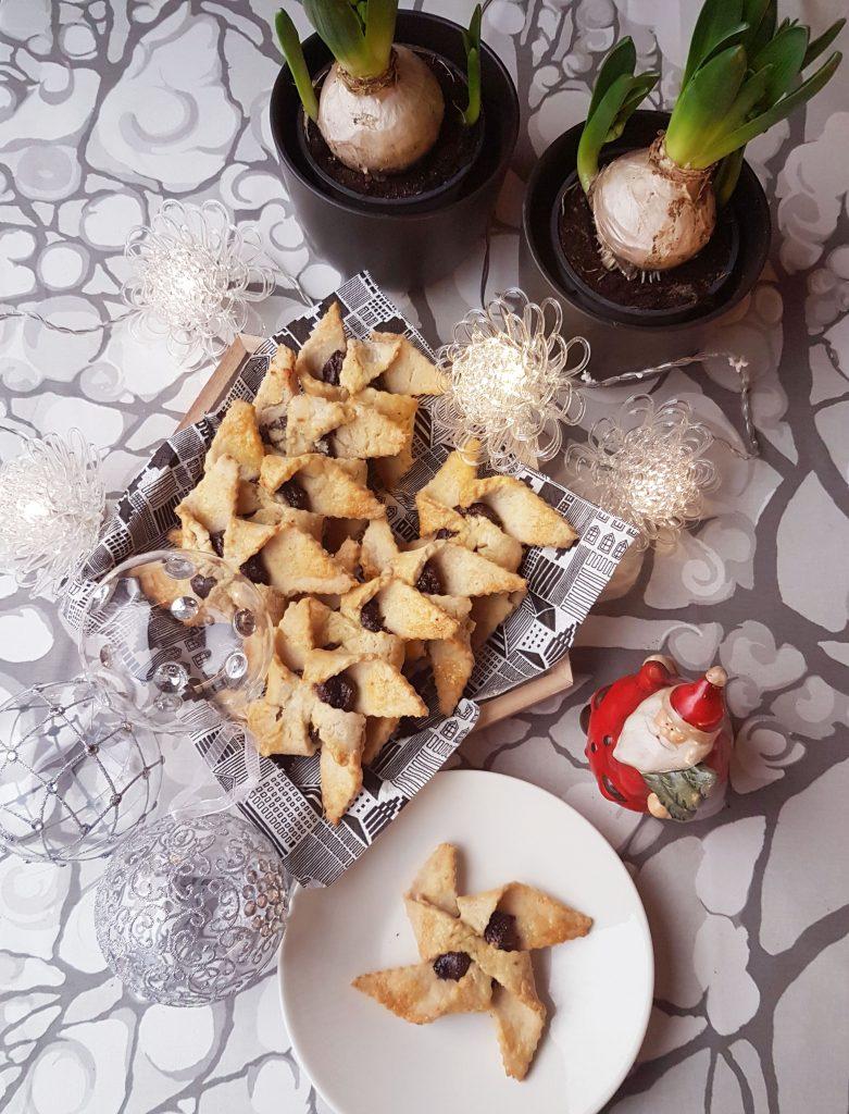 Gluteenittomat joulutortut (vegaani, sokeriton)