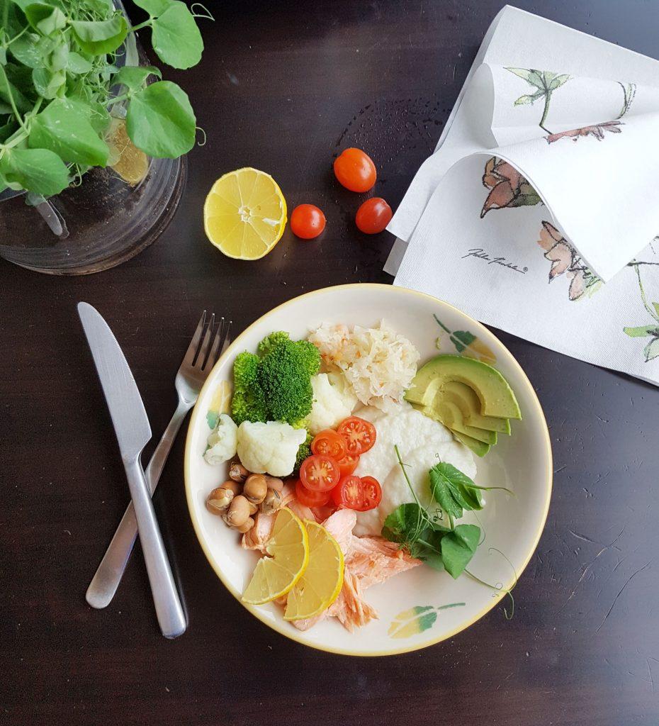 Suolistolle hyvää tekevä lounas