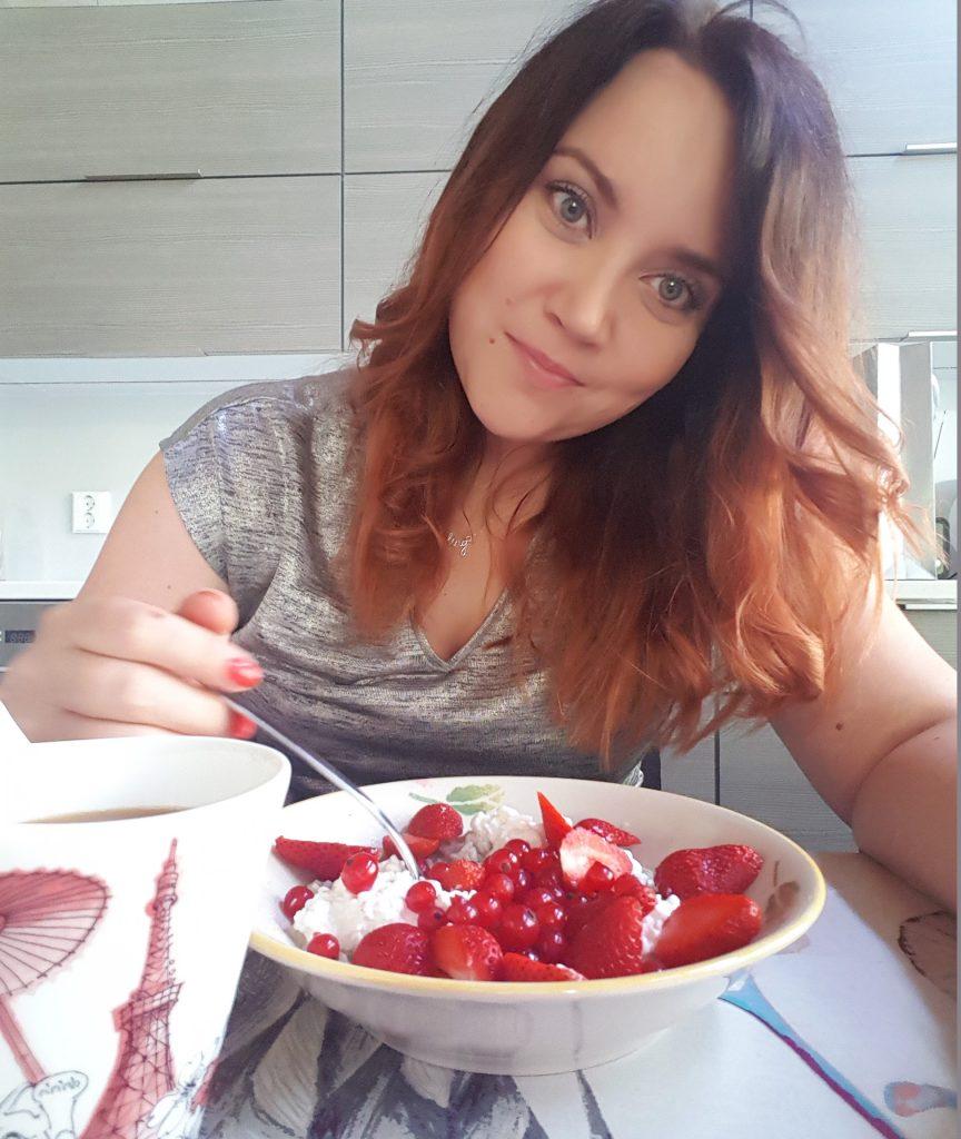 Terveellisiä herkkuja mansikasta!
