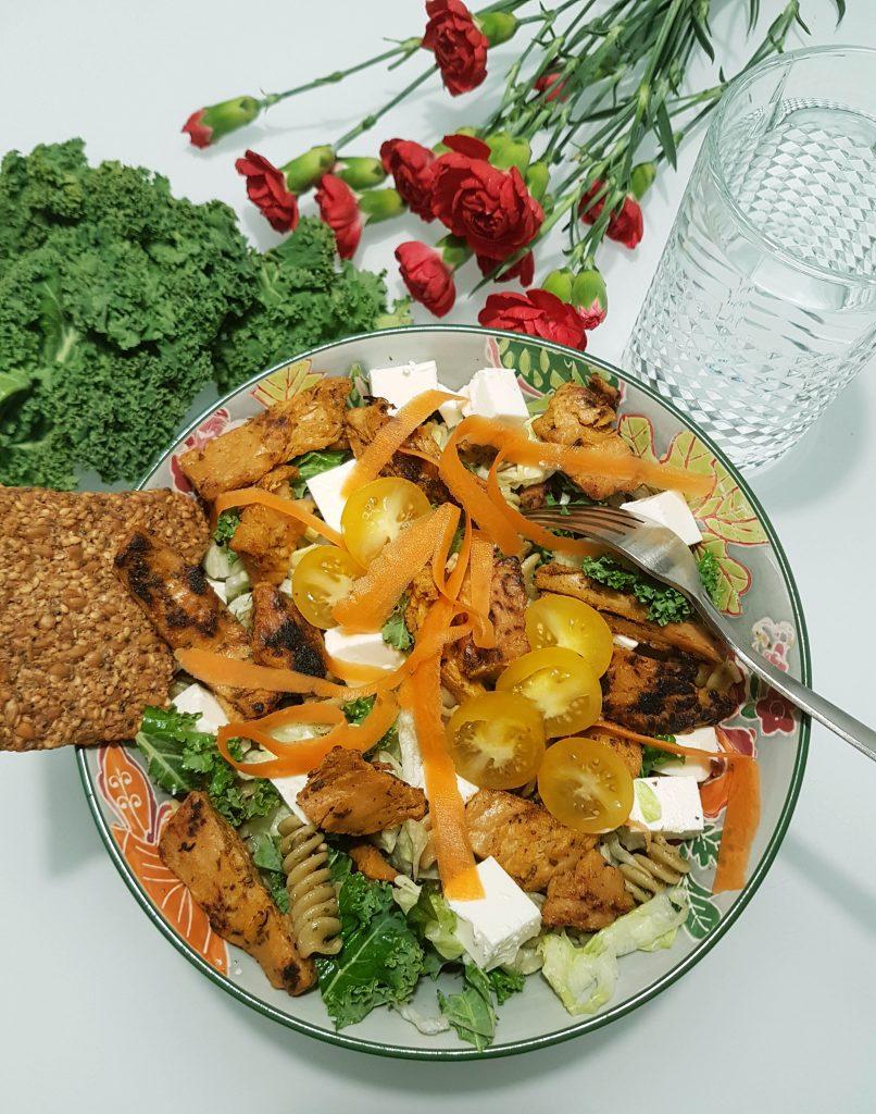 Proteiinipitoinen vegelounas (uusi tuote testissä)
