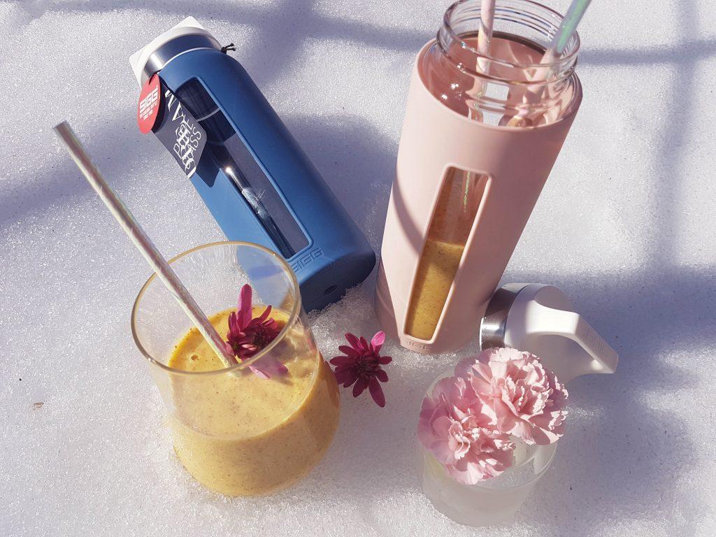 Energiaboost c-vitamiini smoothie ja arvonta!