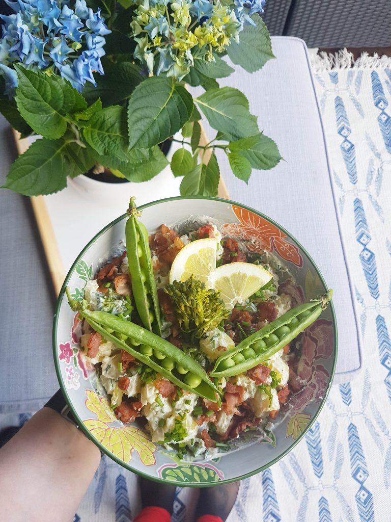 Peruna-parsasalaatti ja kuvia vapusta