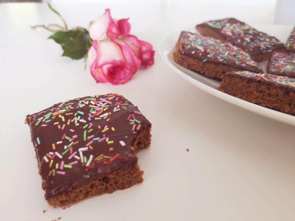 Gluteenittomat suklaa-maapähkinävoiruudut (ilman valkoista sokeria)