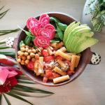 Kylmien päivien lohturuokaa, terveellisempi pastabowl (vegaani)