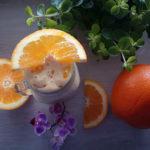 Herkku appelsiini-vaniljasmoothie