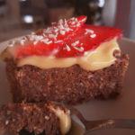 Ystävänpäivän suklaakakku (vegaani)