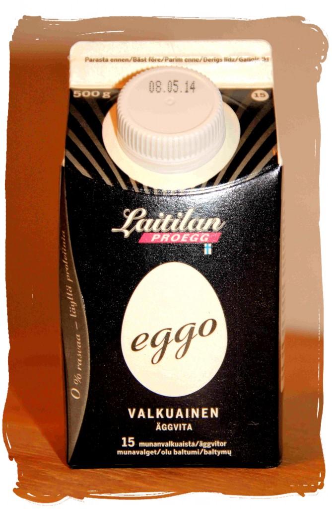 Ravintosisältö: proteiinia 9,9 g/100g,  rasvaa 0g/100g. Tuote on laktoositon ja gluteeniton.