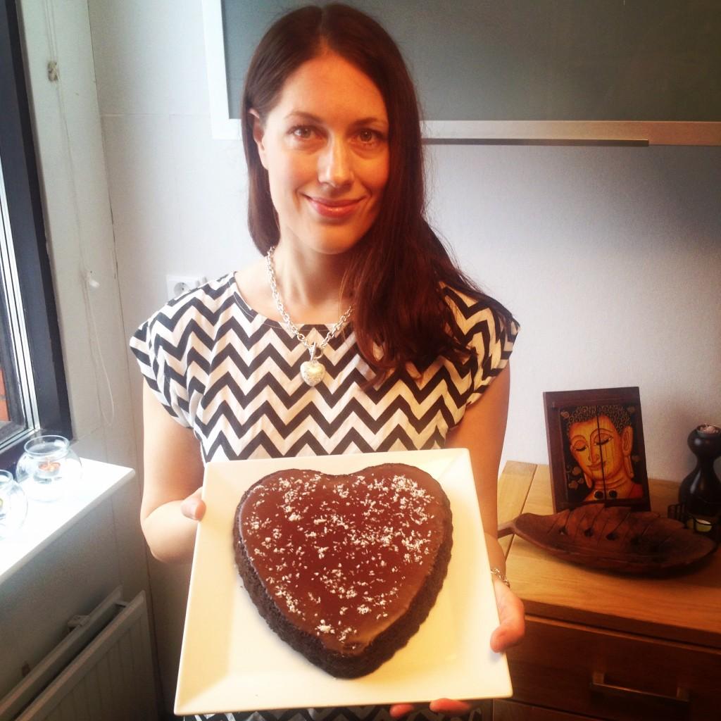 Kakku ja sen tekijä. :)
