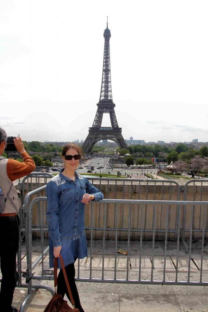 Tour Eiffel et moi