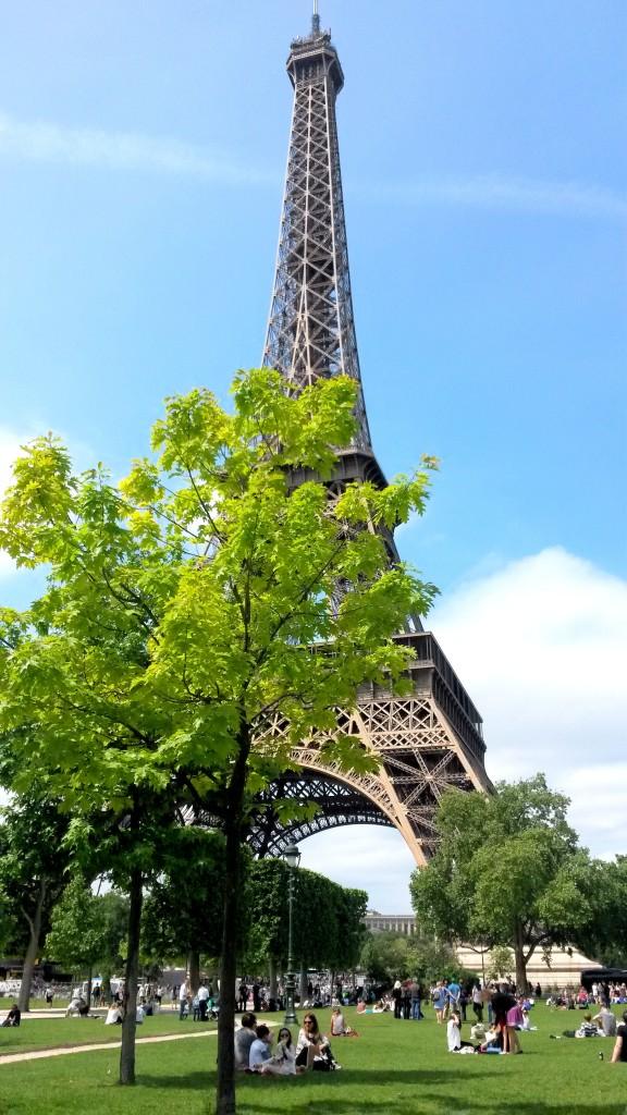 Tour Eiffel puistosta