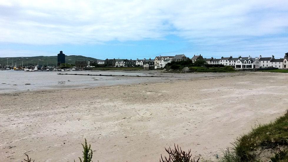 Port Ellenissä on upea hiekkaranta.