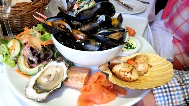 Pierhousen Sea Platter. Mun miehen annosvalinta. Iski kateus! ;)