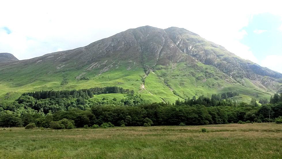 Uskomattoman kaunis Glencoe. Paikan kauneus ei avaudu kuvissa.