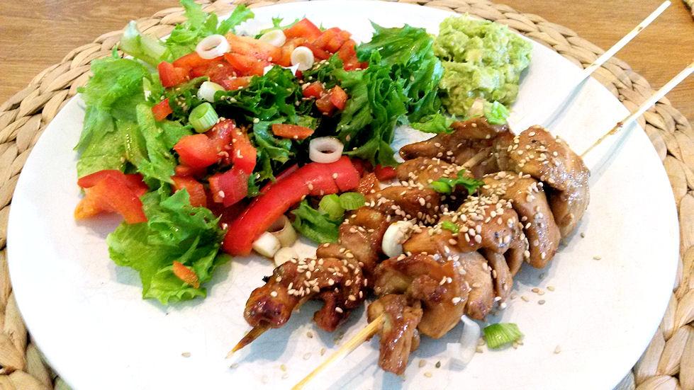 Ruokavinkki viikolle: teriyakibroileria ja wasabikastiketta