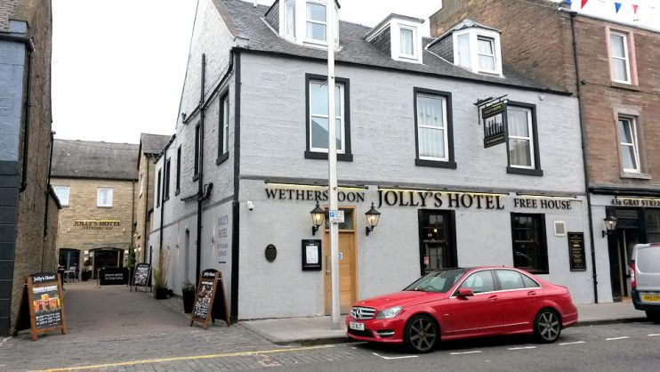 Jolly's Hotel, Broughty Ferry.