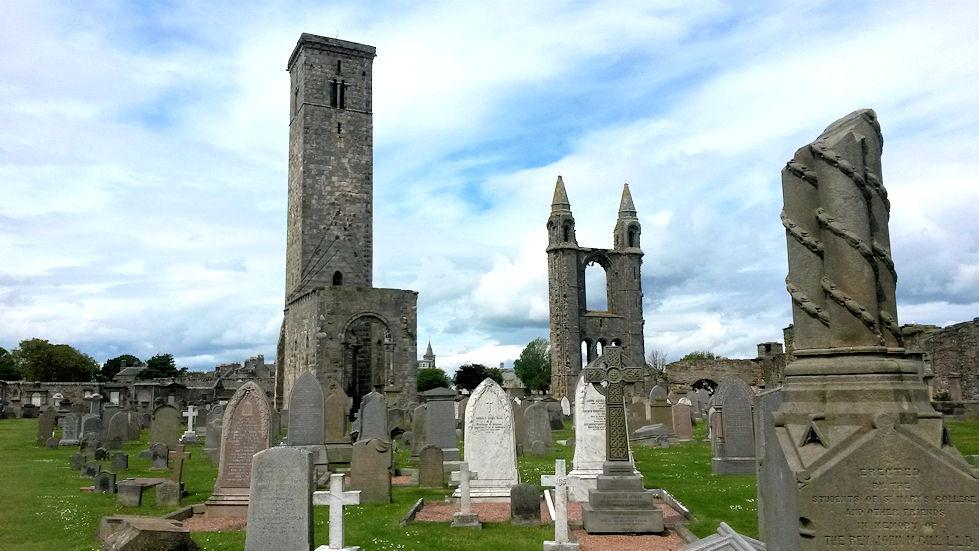 st andrews ruins