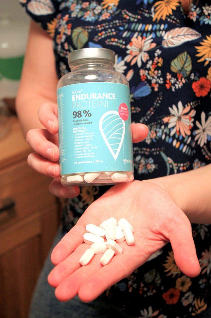 Poweria treeneihin superproteiinipillereistä