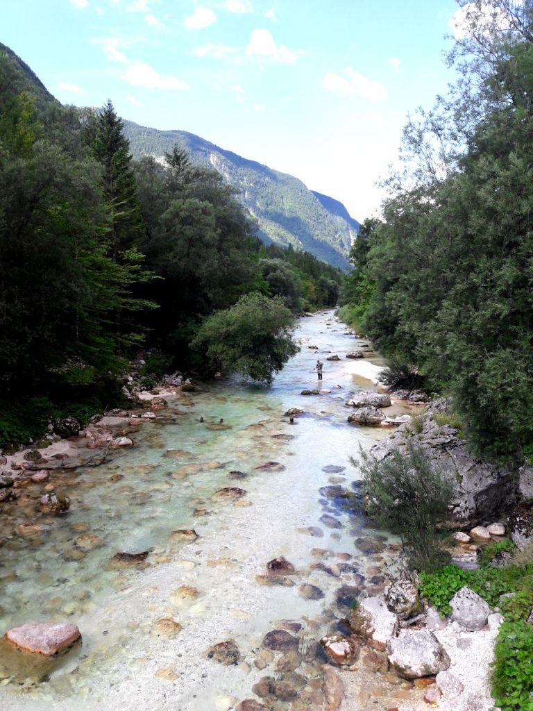 Hurmaava Slovenia osa 2: henkeäsalpaavan kaunis Bovec ja Soča-joki