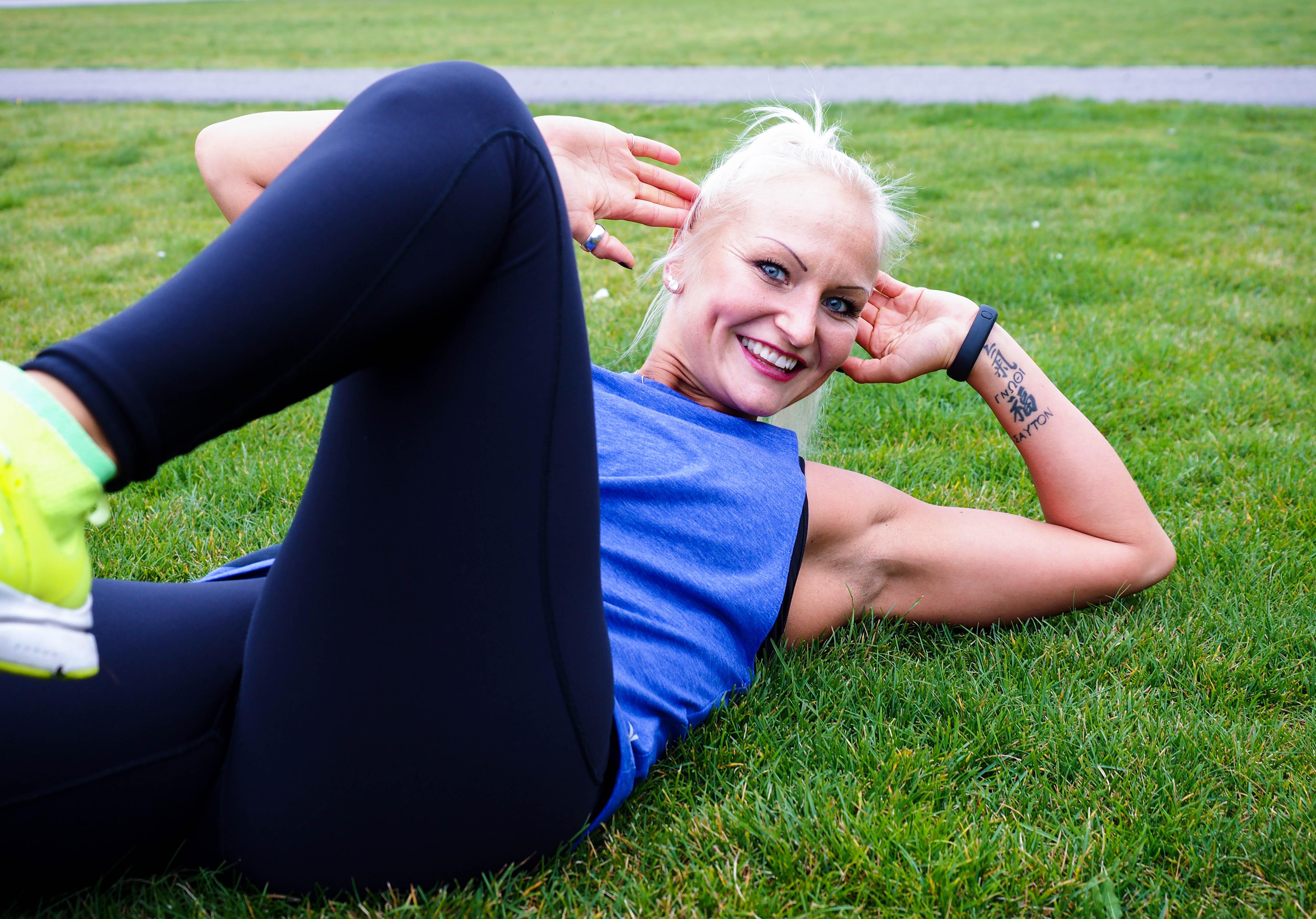 Kuinka saat vahvat ja erottuvat vatsalihakset?