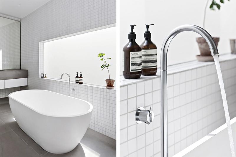 Inspiraatiota ja laattavaihtoehtoja kylpyhuoneen remonttiin
