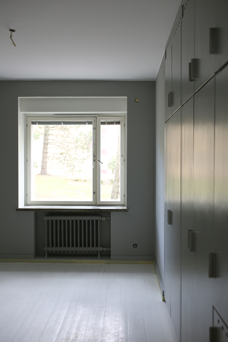 Harmaa makuuhuone ja muut remonttikuulumiset
