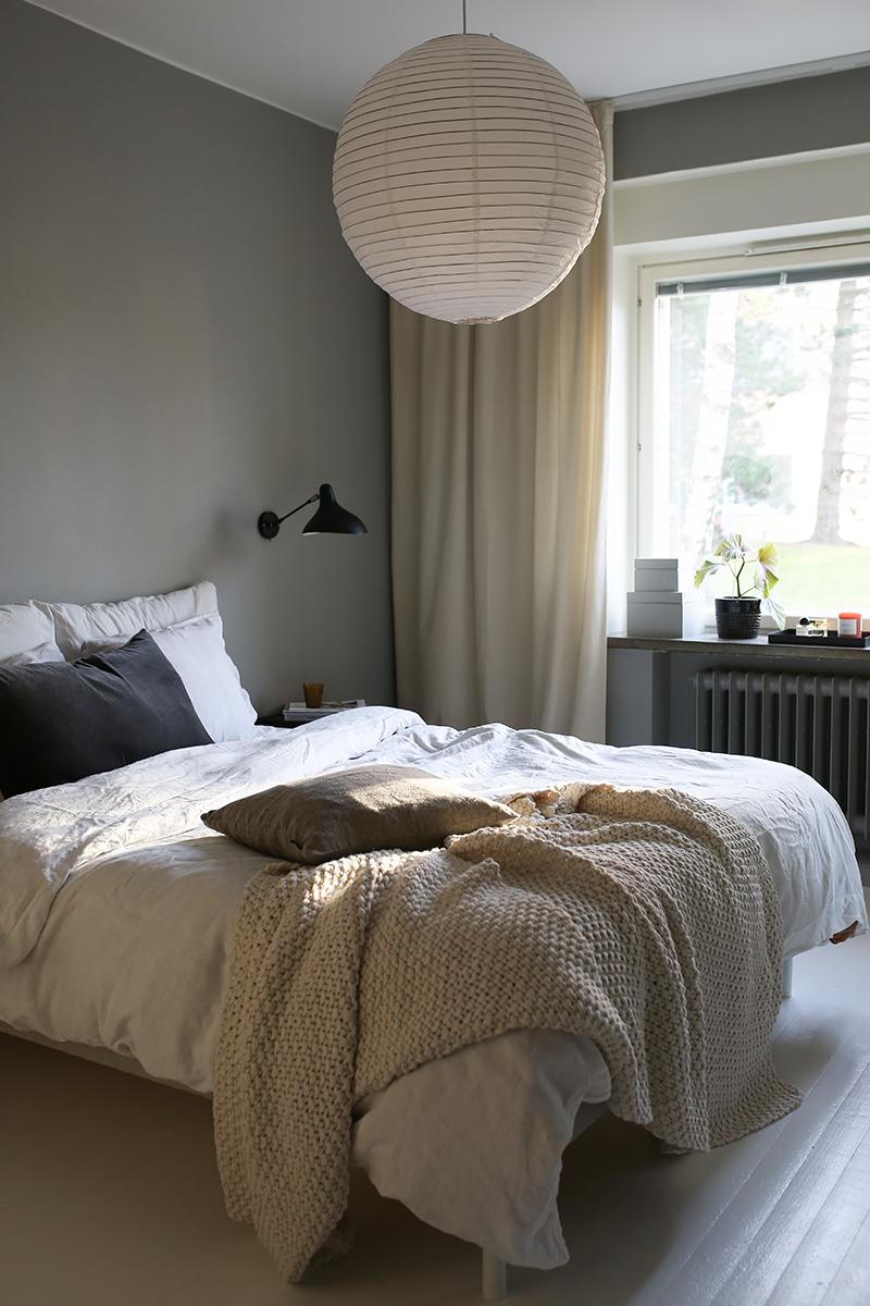 Makuuhuoneen seinäsävy