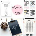 Seinäkalenterit vuodelle 2016
