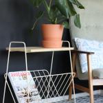 DIY matto ja vanha lehtiteline