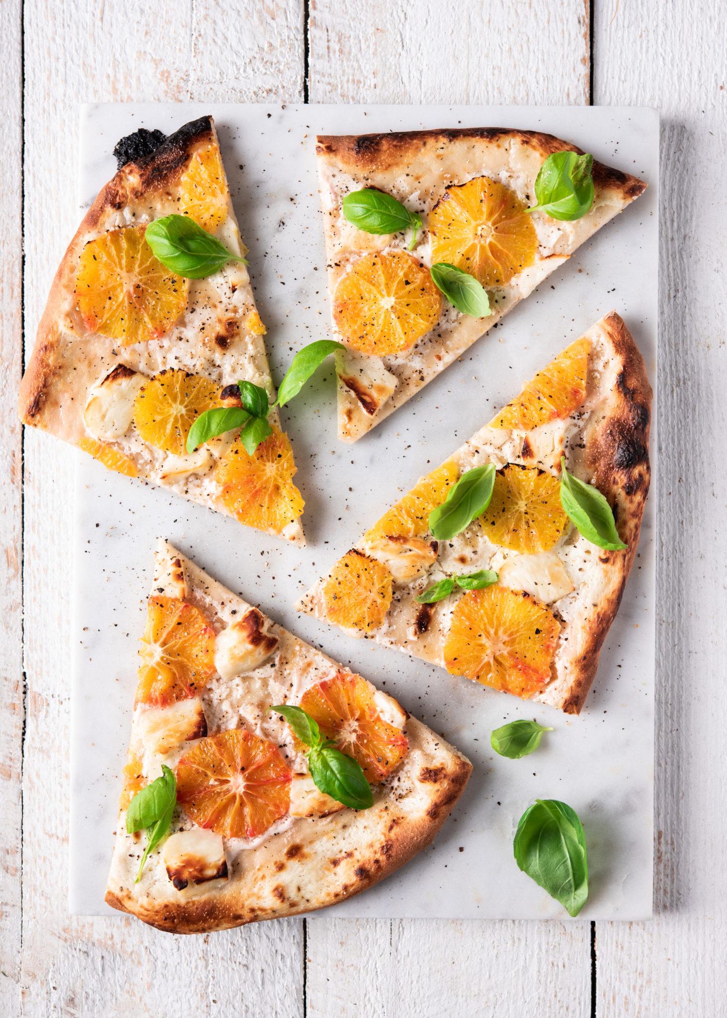 Veriappelsiinipizza