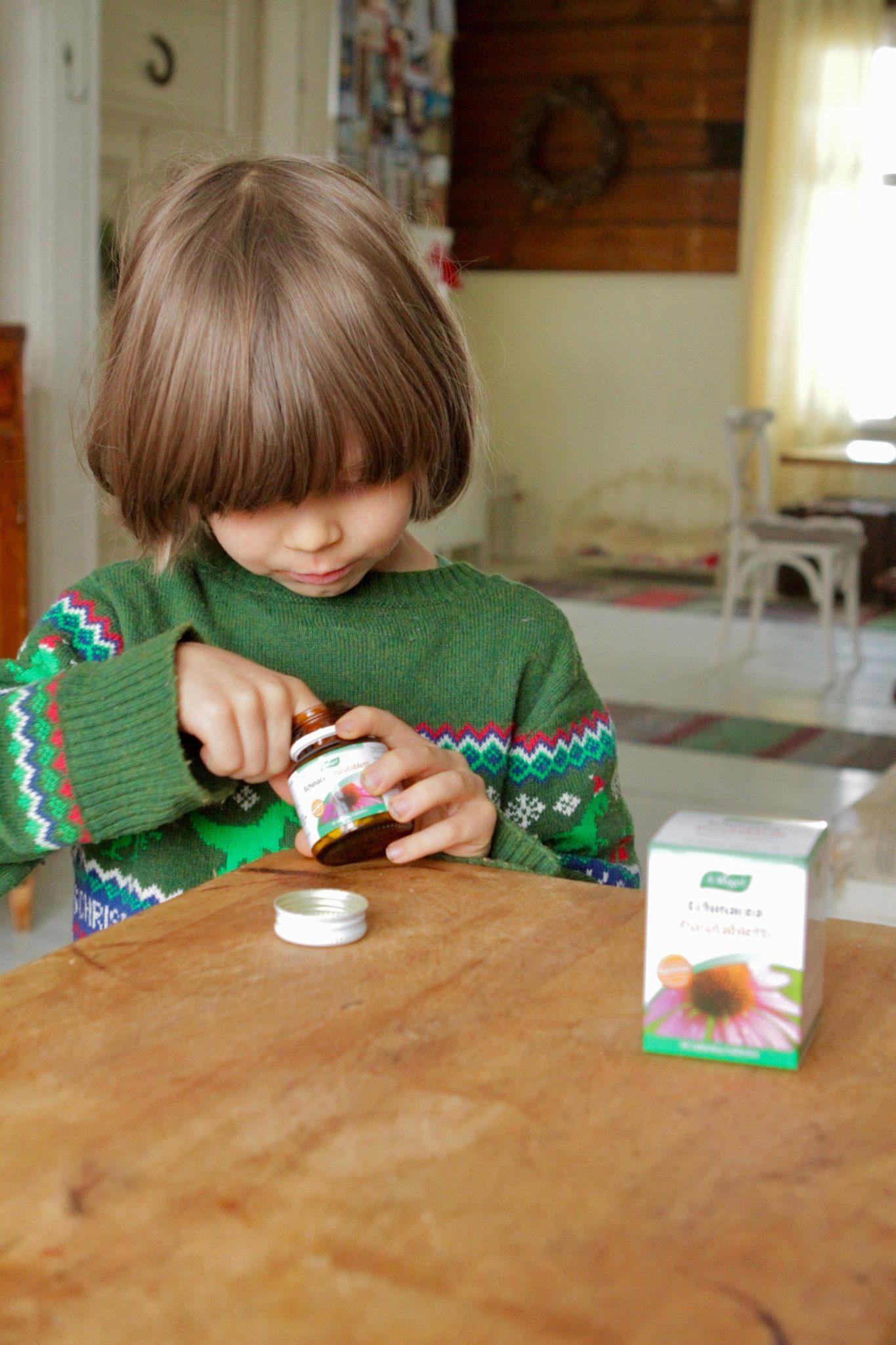 Pakastepitsaa, raakaruokaa ja Echinacea tabletteja - syntyykö terveellisempi arki tästä?