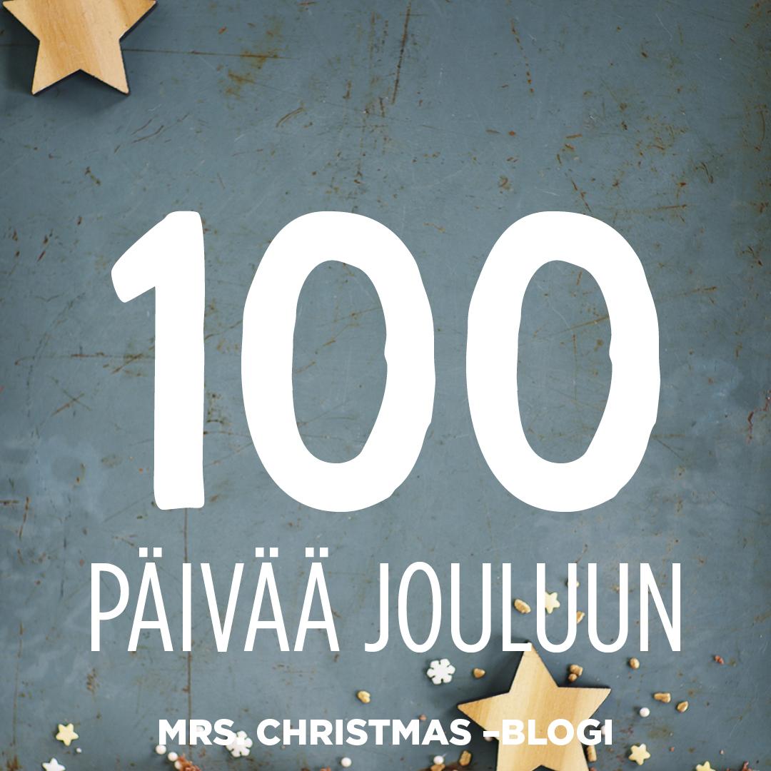 """""""Joulu on kuin karvanauhalla koristeltu majakka, joka luotsaa läpi pimeimmän vuodenajan"""", sanoo Mrs. Christmas"""