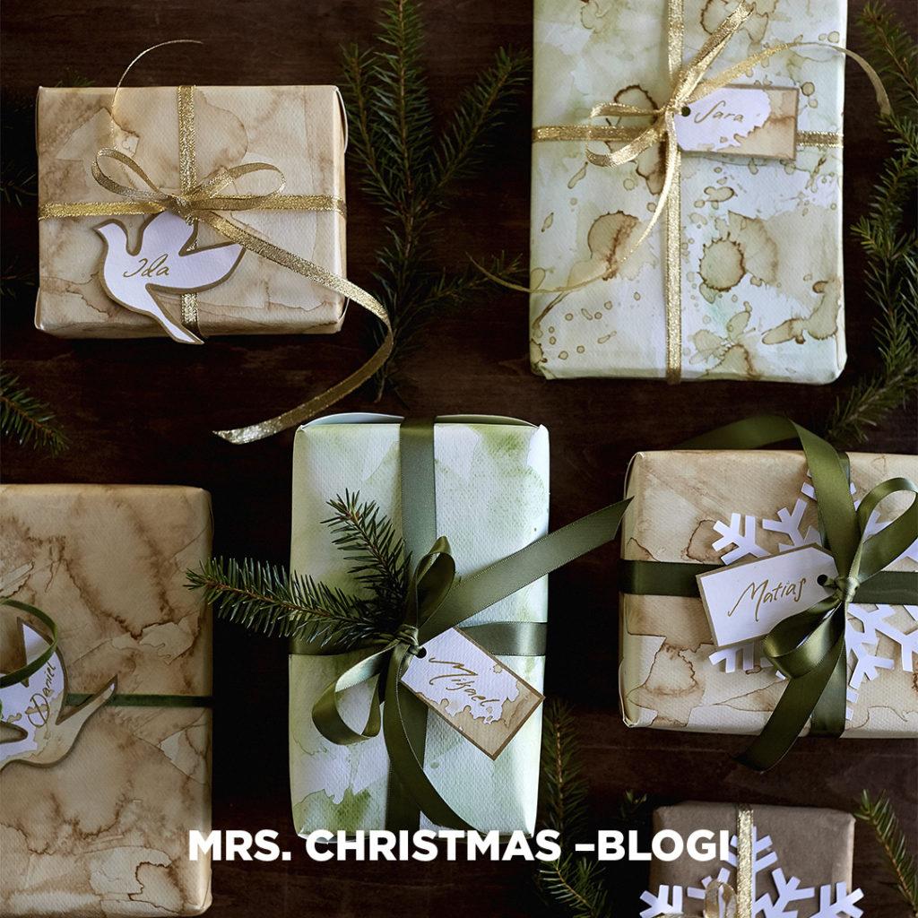 Mitä toivon Joulupukilta - ja ainakin kymmenen ideaa aineettomaan joululahjaan