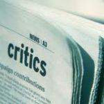 Kritiikin kritiikkiä